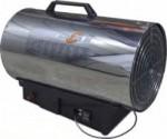 Warme luchtblazer grijs model